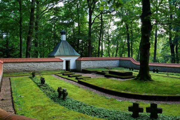 Ehrenfriedhof - Waldfriedhof in Bad Homburg v.d.H.